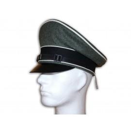 W-SS brigadýrka pro mužstvo a poddůstojníky z vlny - mannschaften schirmmütze - EREL®