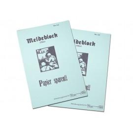 Služební blok do německé maptašky