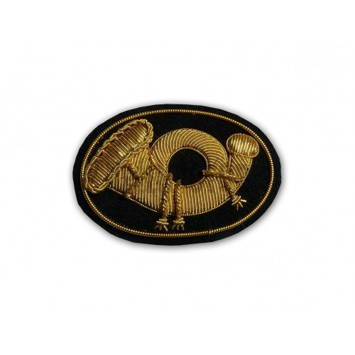 Znak Infantry - pěchoty na képi či klobouk ACW vyšívaný