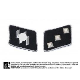 W-SS límcová hodnost pro důstojníky - SS Untersturmführer