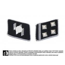 W-SS límcová hodnost pro důstojníky - SS Obersturmbannführer