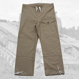 Britské Windproof kalhoty DRAB
