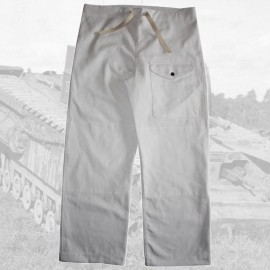 Britské zimní makovací kalhoty