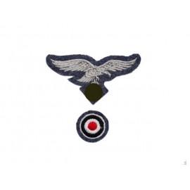 WL ošití na lodičku či polní čapku pro mužstvo Luftwaffe