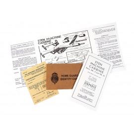 Home Guard - průkaz a tiskoviny
