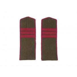 Nárameníky pro pěchotu -  M43 na polní uniformu RKKA - seržant