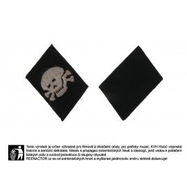 WSS límcové výložky 3. Pz. Div. Totenkopf pro mužstvo a poddůstojníky - vertikální