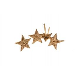 Hvězdy na stříbrné nárameníky RKKA pro důstojníky - major až plukovník