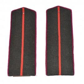 Důstojnické nárameníky pro pěchotu -  M43 na polní uniformu RKKA