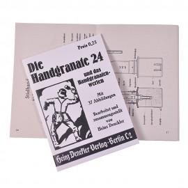 Brožura k německému granátu Handgranate HGR-24