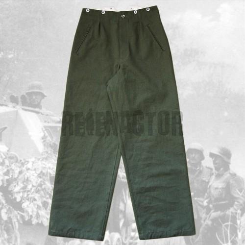 Kalhoty pracovní Drillich vz. 1940