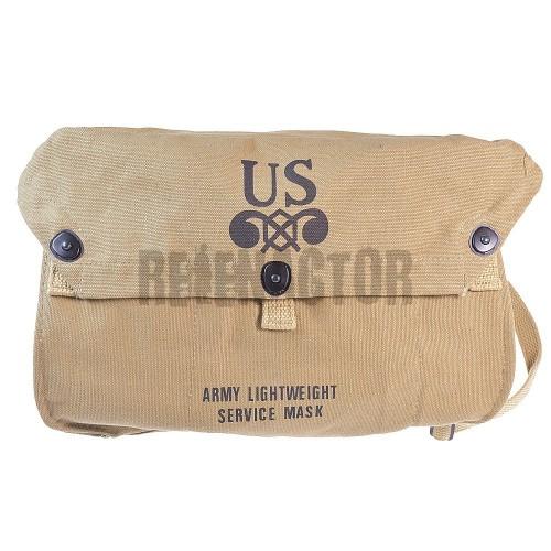 US Lightweight service Gas Mask bag - brašna pro odlehčenou protiplynovou masku