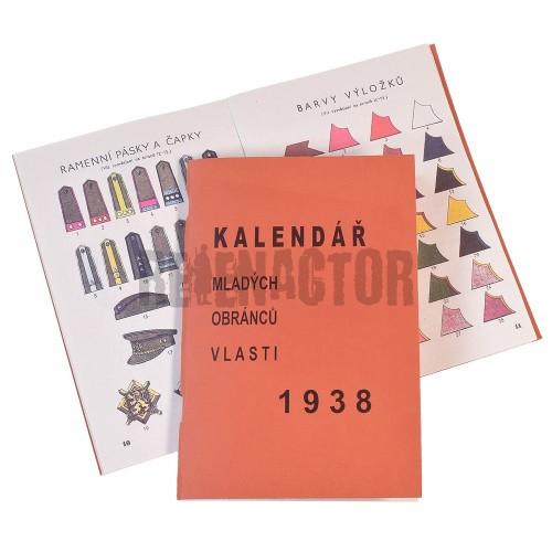 Čs. kalendář mladých obránců vlasti 1938