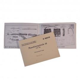 Armádní příručka k pušce StG.44