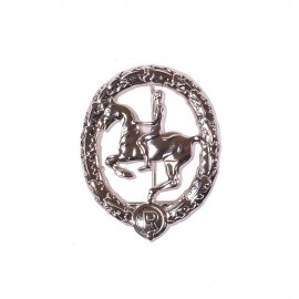 Jezdecký odznak - stříbrný