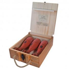 Bedna pro miny do německého minometu GrW 34 - včetně maket min