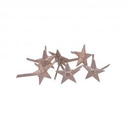 Hvězdy na nárameníky RKKA pro důstojníky - poručík až kapitán