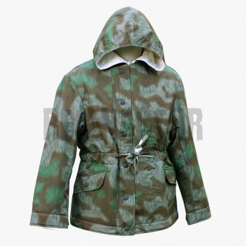 Zimní bunda rozpitá louka - šedá