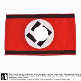 Rukávová páska Allgemeine SS - vlněná