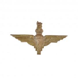 Britský odznak na baret Parachute regiment