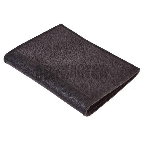 Kožená peněženka - pouzdro na Soldbuch - Černé