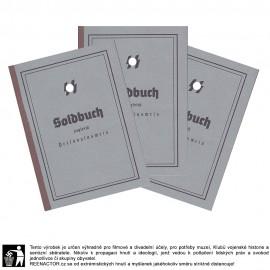 SS Soldbuch - vojenská knížka 1. vzor