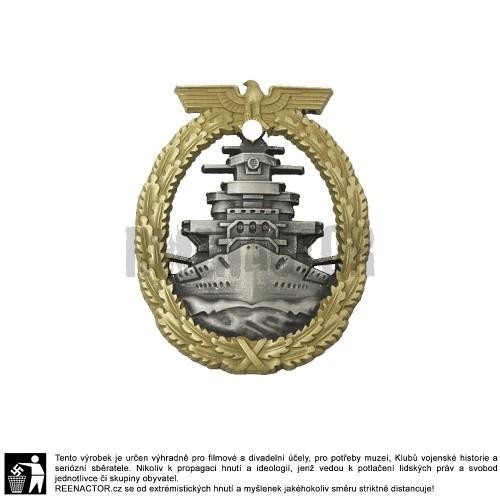 Válečný odznak bojového loďstva - Flotten Kriegsabzeichen