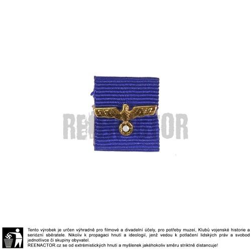Stužka na lištu - vyznamenání za dlouholetou službu u Wehrmacht Heer - 12 let
