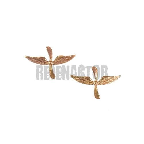 Odznak na límcové výložky pro letectvo RKKA