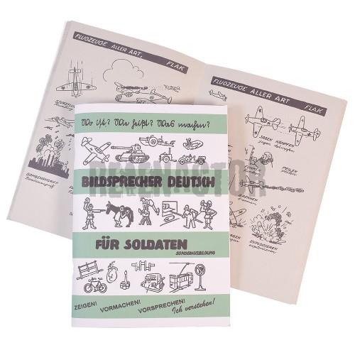 Ilustrovaná příručka pro vojáky - Bildschprecher Deutch für Soldaten - 2.díl