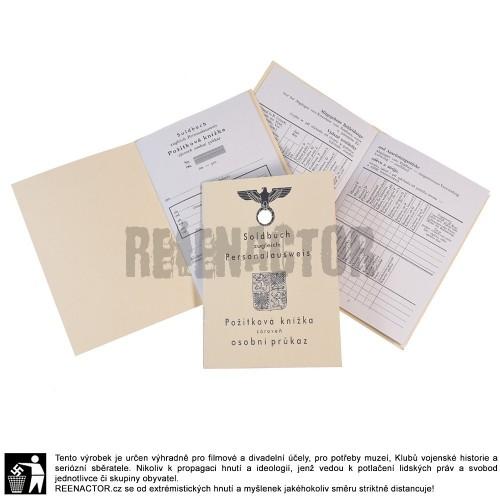 Soldbuch - Požitková knížka vojáka Vládního vojska - PŘEDPRODEJ