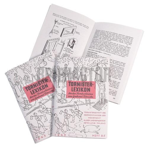 Tornister lexikon - německý lexikon pro frontové vojáky