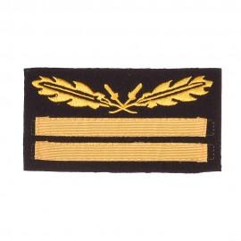 W-SS rukávová hodnost Gruppenführer/Generalleutnant