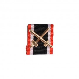 Stužka na lištu - Válečný záslužný kříž s meči