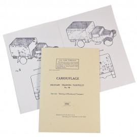 Britská příručka o kamufláži transportní techniky