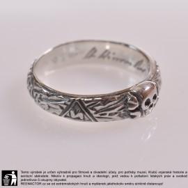 Čestný prsten SS - Totenkopfring