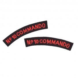 Britské nášivky - domovenky Commando No.10