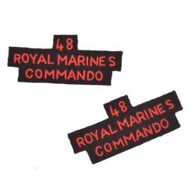 Nášivky - domovenky 48 Royal Marines Commando