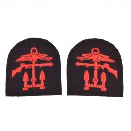 Rukávový emblém speciálních sil Royal Marine Commando