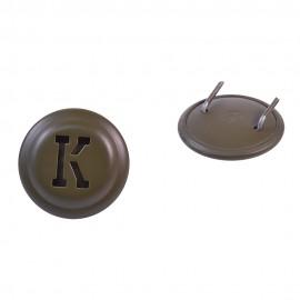 Rakousko-Uherská kokarda K na polní čapku