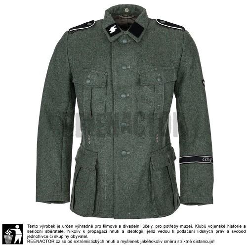 W-SS Feldbluse 1940 - kompletně ošité pro mužstvo a poddůstojníky