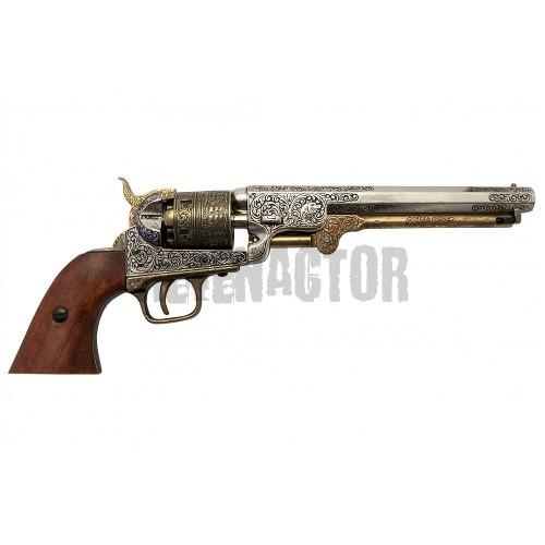 Armádní revolver Colt Army 1860 - černěný