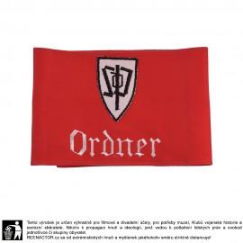 Rukávová páska Ordnerů sudetoněmecké strany - SdP Ordner