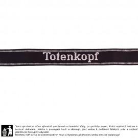 Manžetová stuha 3. SS Pz. Div. Totenkopf - vyšívaná