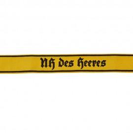 Manžetová stuha pro Nachrichtenhelferin des Heeres - vyšívaná