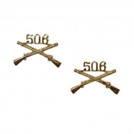 Límcový odznak pro důstojníky 506th Parachute Infantry Regiment - 101st ABN Div.