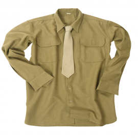 US vlněná košile pro mužstvo a poddůstojníky
