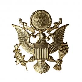 US čepicový odznak pro důstojníky