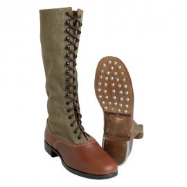DAK vysoká obuv Afrikakorps - Tropenstiefel
