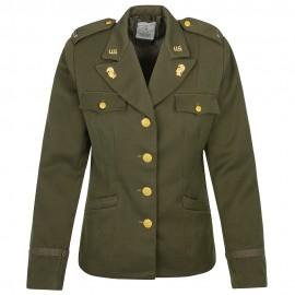 US dámské sako příslušnice Woman Army Corps - WAC - verze pro důstojníky